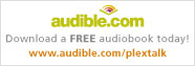 Go to PLEXTALK partner audible.com page