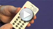 Go to video guide - Reading a DAISY book on PLEXTALK Pocket PTP1