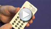 Go to video guide - Reading a DAISY book on PLEXTALK Pocket PTP1