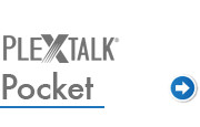 Go to PLEXTALK Pocket support page