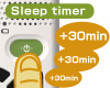 Sleep timer key