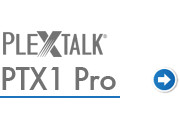 Go to PLEXTALK PTX1 support page