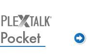 Go to PLEXTALK Pocket support page